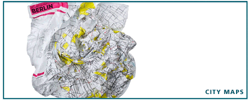 CRUMPLED CITY MAPS - STADTKARTEN - STADTPLAN - SOUL SIGHTS - GIVE AWAY
